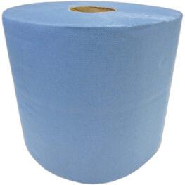 Papierrolle blau 1000 Blatt 22x36cm