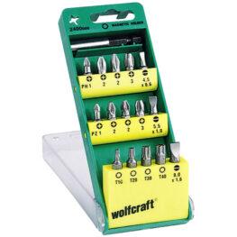 Wolfcraft Bit Set