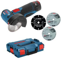 Winkelschleifer – Bosch GWS 12V-76 in L-Boxx