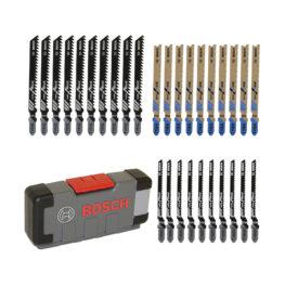 Stichsägeblätter – Bosch Set 30tlg. für Holz & Metal